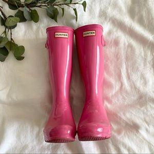 Woman's Size 7 Hunter Boots, Original Kids Gloss